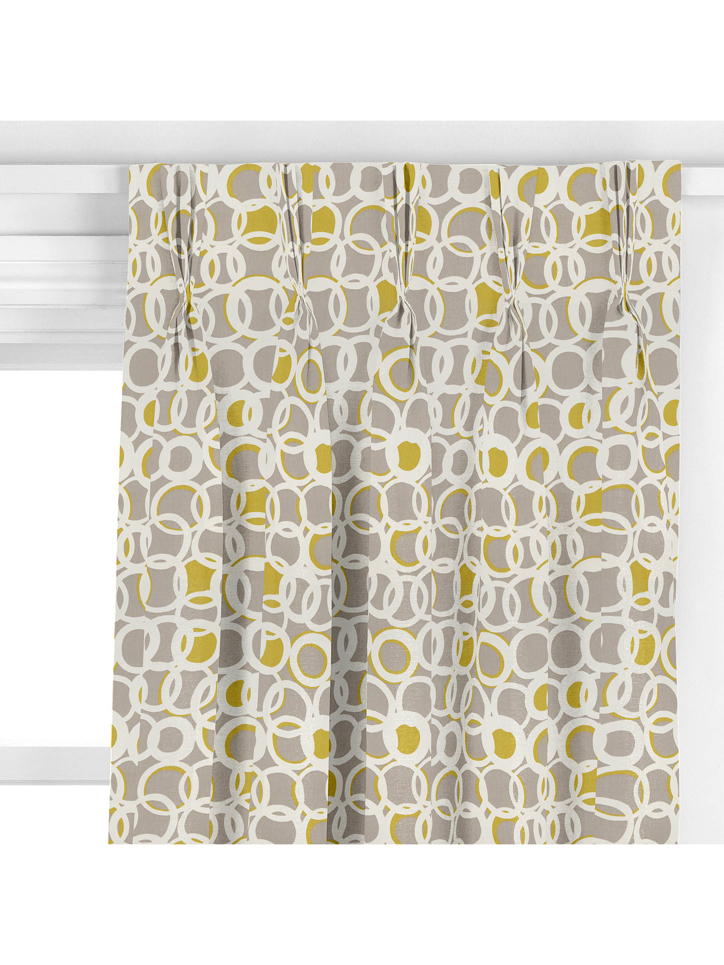 BuyScion Zsa Zsa Curtain, Stone / Spill / Gull Online at johnlewis.com