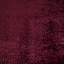 Buy John Lewis Lyra Velvet Furnishing Fabric, Mulberry Online at johnlewis.com
