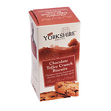 Buy The Yorkshire Deli Co. Chocolate Toffee Crunch Biscuits, 150g Online at johnlewis.com