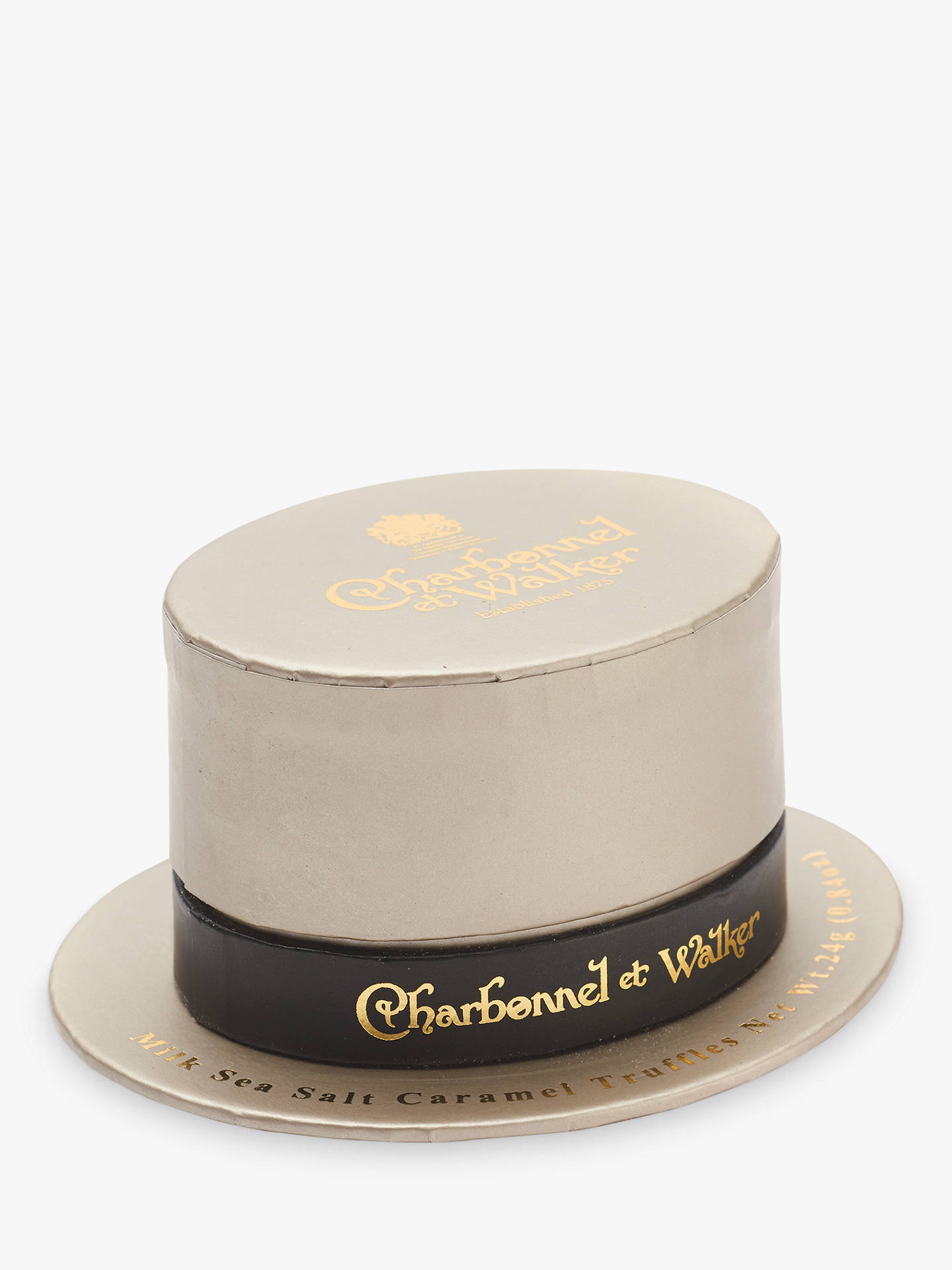 BuyCharbonnel et Walker Milk Sea Salt Caramel Truffles, Top Hat, 24g Online at johnlewis.com