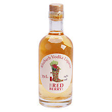 Buy The Little Red Berry Co. Rhubarb Vodka Liqueur, 35cl Online at johnlewis.com