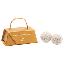Buy Charbonnel et Walker Milk Sea Salt Caramel Truffles, Handbag, 24g Online at johnlewis.com