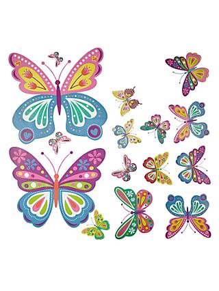Little home at john lewis butterflies wall stickers