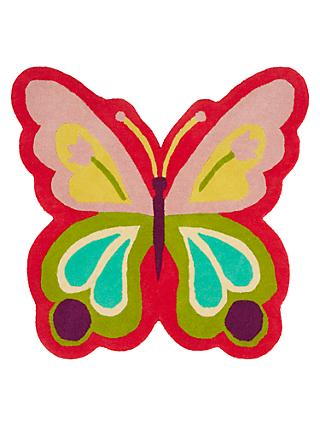little home at John Lewis Butterfly Shape Children's Rug