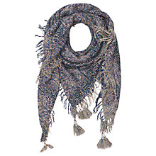 Buy Gerard Darel Blossom Scarf, Dark Blue Online at johnlewis.com