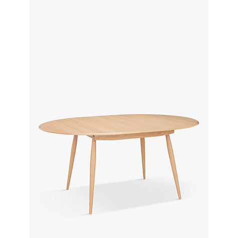 Buy Ercol For John Lewis Shalstone Round Extending Dining Table Online At Johnlewis