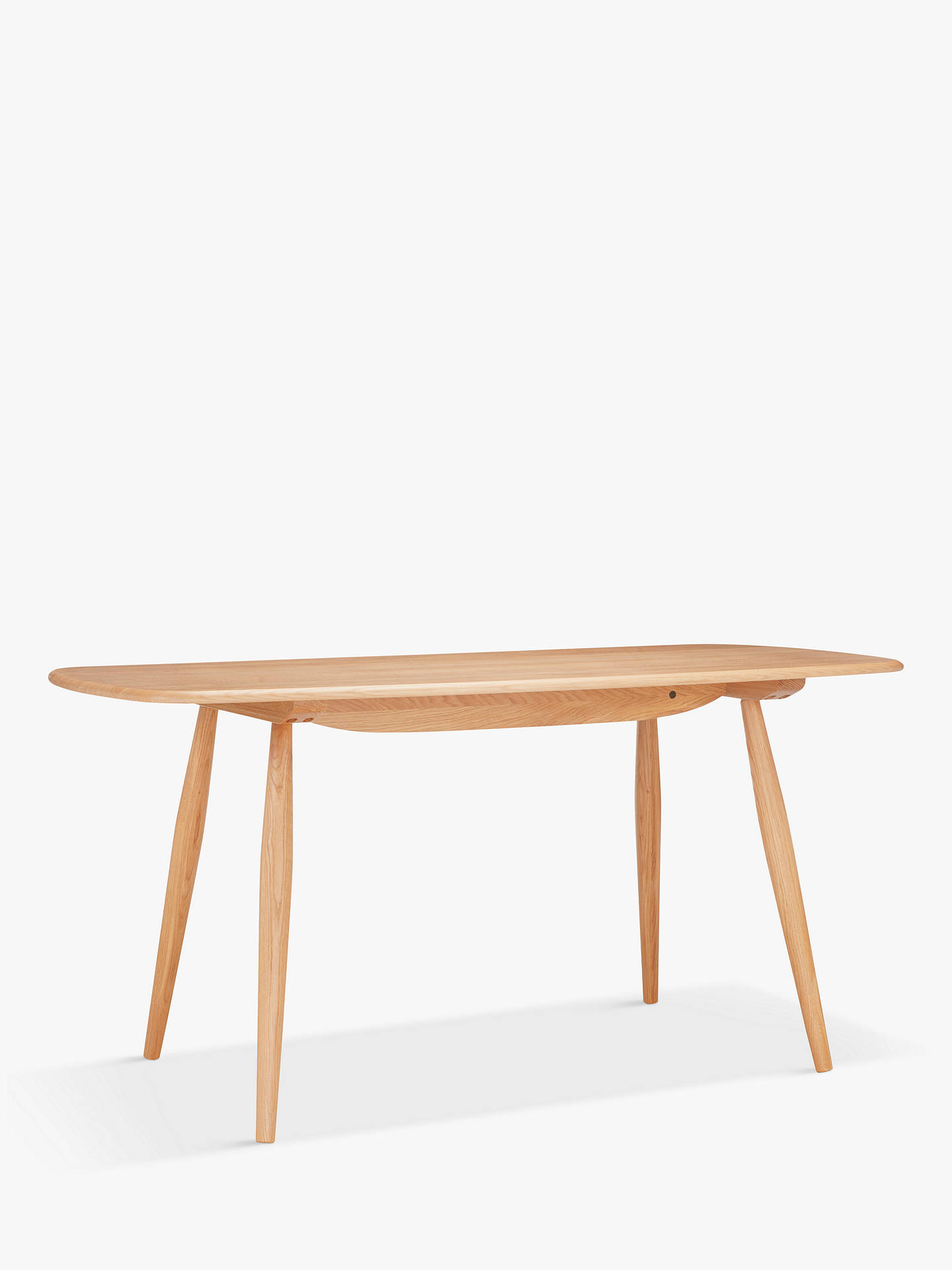 Buy Ercol For John Lewis Shalstone 4 Seater Dining Table Oak Online At Johnlewis