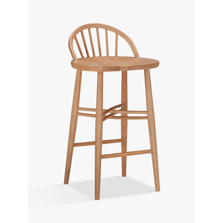 ercol for john lewis shalstone bar stool at john lewis. Black Bedroom Furniture Sets. Home Design Ideas