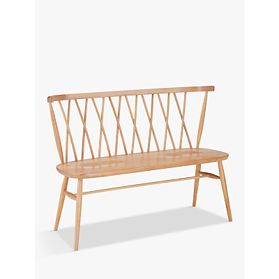ercol for John Lewis Shalstone Dining Bench