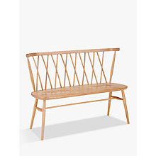 Buy ercol for John Lewis Shalstone Dining Bench Online at johnlewis.com