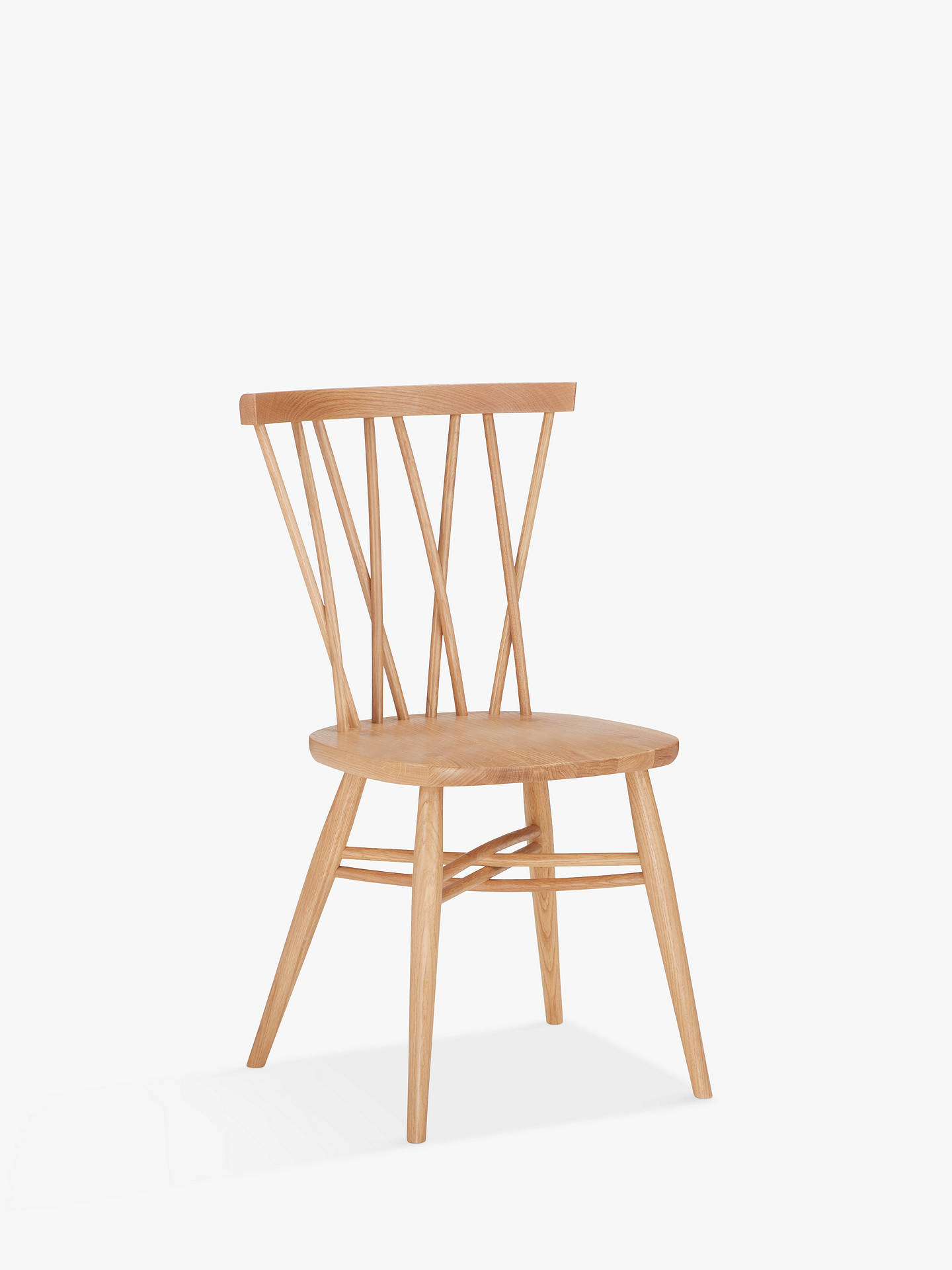 Prime Ercol For John Lewis Shalstone Dining Chair Oak Evergreenethics Interior Chair Design Evergreenethicsorg