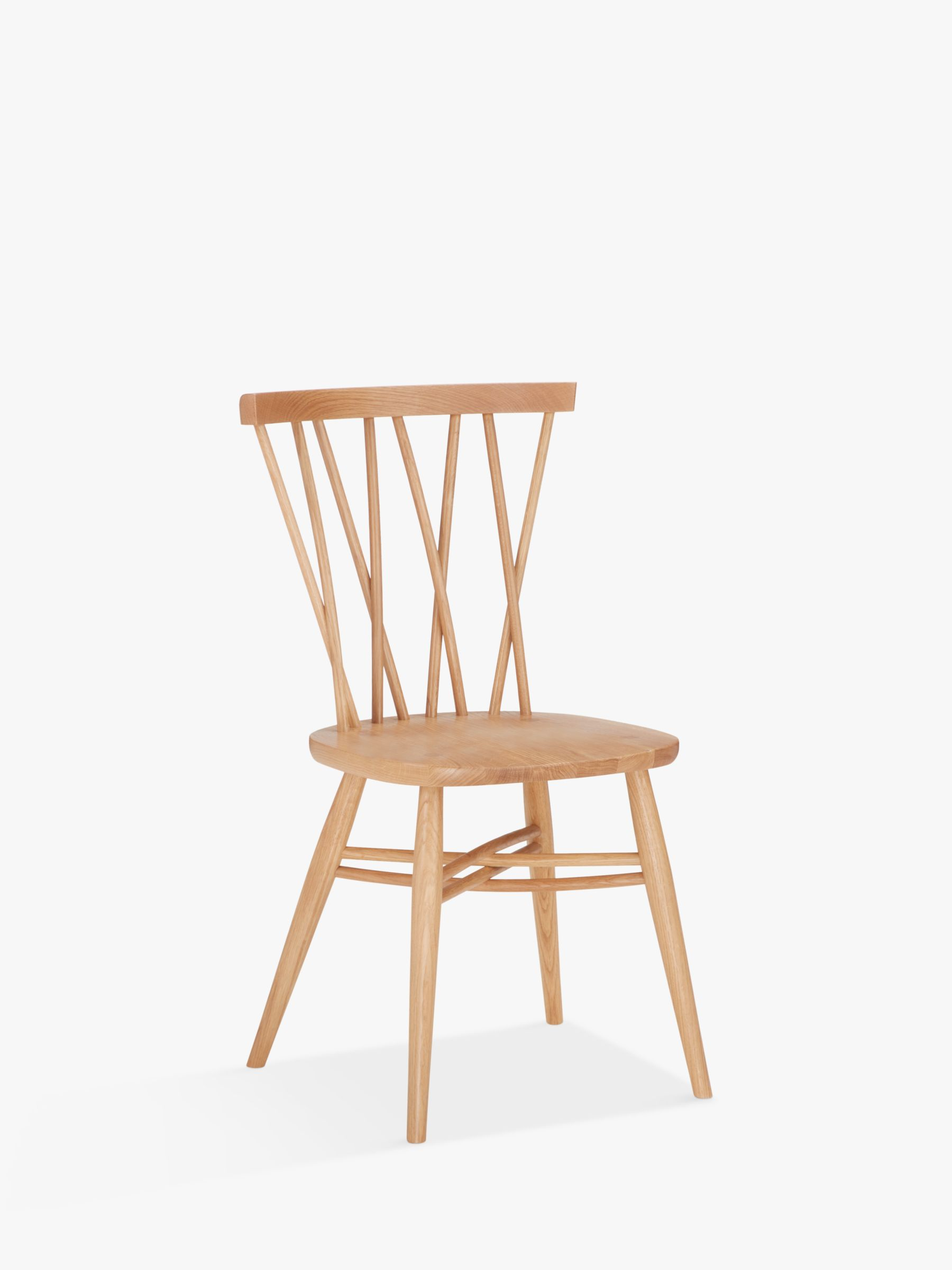ercol for John Lewis ercol for John Lewis Shalstone Dining Chair, Oak