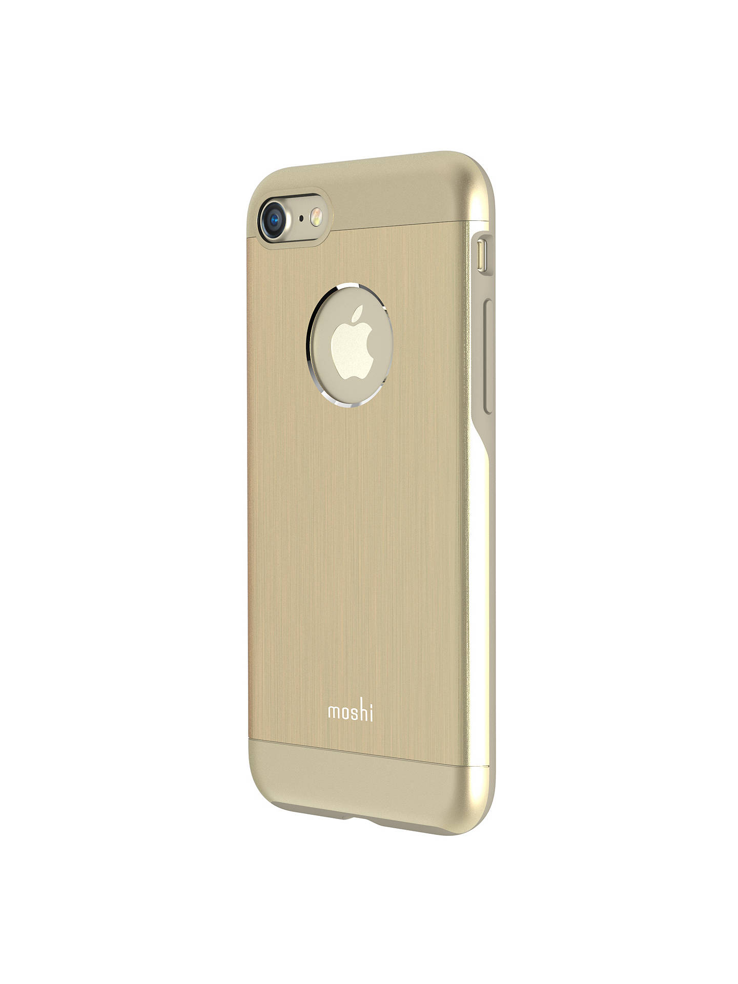 best website fe9ef 59d19 Moshi iGlaze Armour Case for iPhone 7, Gold