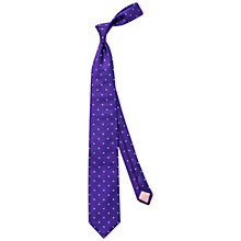 Buy Thomas Pink Tilbury Spot Woven Silk Tie Online at johnlewis.com