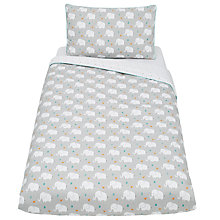 Buy John Lewis Elephant Cotbed Duvet Set Online at johnlewis.com