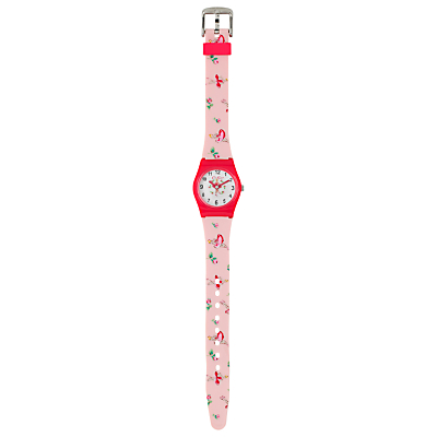 Cath Kidston Children's Ballerina Rose Watch, Pink