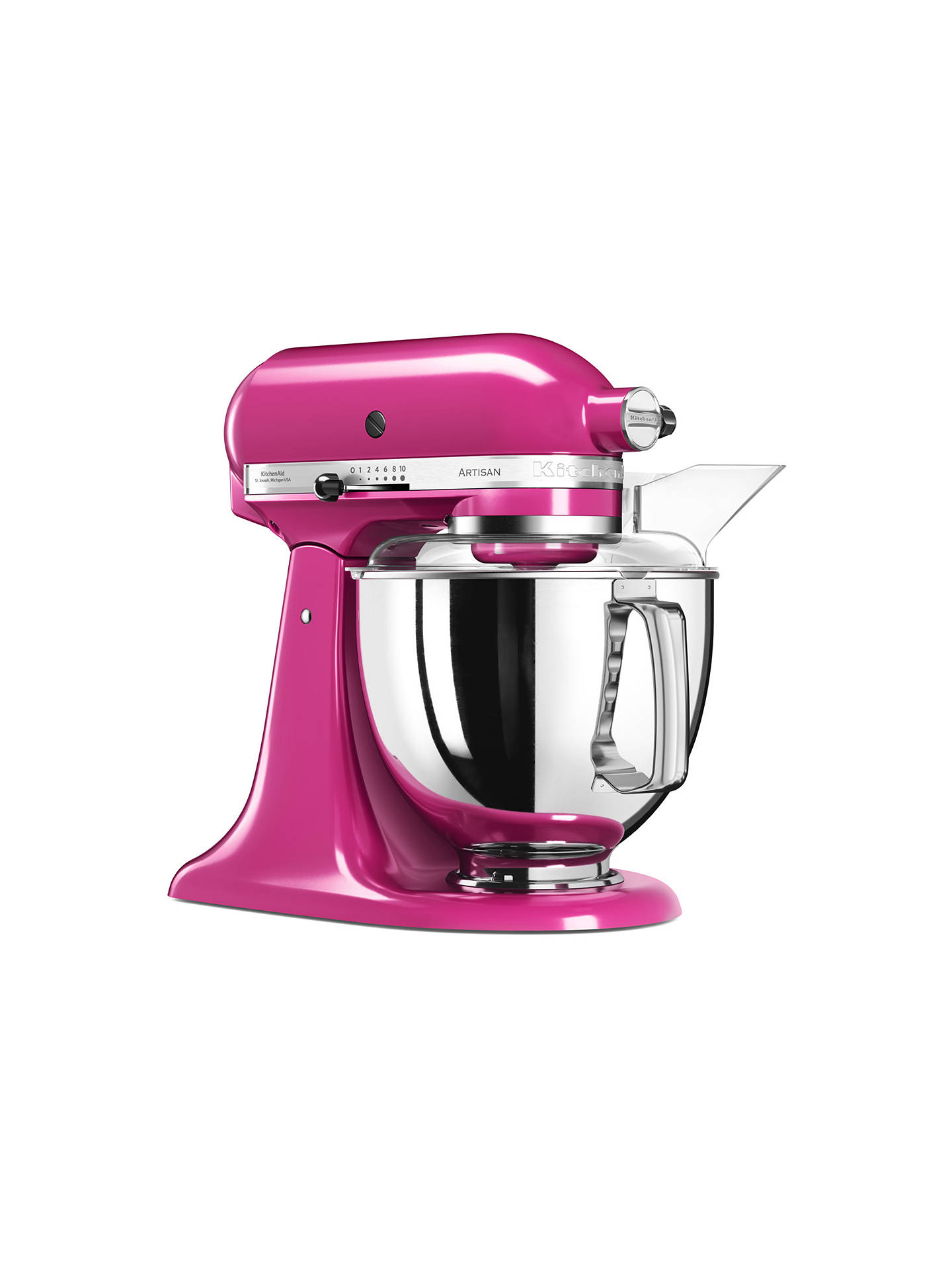 Buy KitchenAid 175 Artisan 4.8L Stand Mixer, Cranberry Online at johnlewis.com