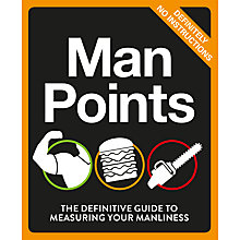 Buy Man Points Book Online at johnlewis.com