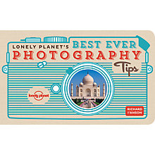 Buy Lonely Planet Best Ever Photography Tips Online at johnlewis.com