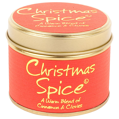 Buy Lily-Flame Christmas Spice Mini Candle Tin Online at johnlewis.com