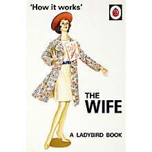 Buy Ladybird For Grown Ups The Wife Book Online at johnlewis.com