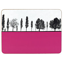 Buy The Art Rooms Leeds Armley Tablemat, Pink Online at johnlewis.com