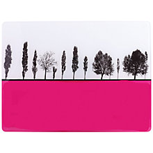 Buy The Art Rooms Rural Landscape Worktop Saver, Pink Online at johnlewis.com