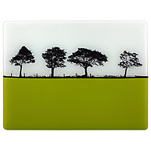 Buy The Art Rooms Glass Worktop Saver, Lime Green Online at johnlewis.com