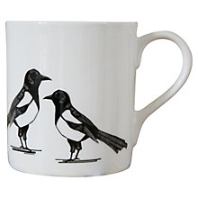 Buy Martha and Hepsie Mischievous Magpie Mug Online at johnlewis.com