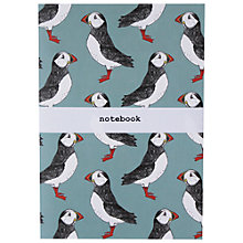 Buy Martha and Hepsie Puffin Billy A5 Notebook Online at johnlewis.com