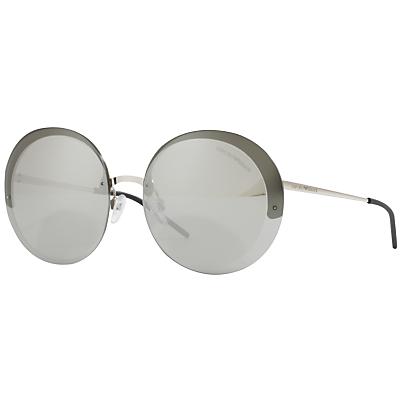Emporio Armani EA2044 Round Sunglasses
