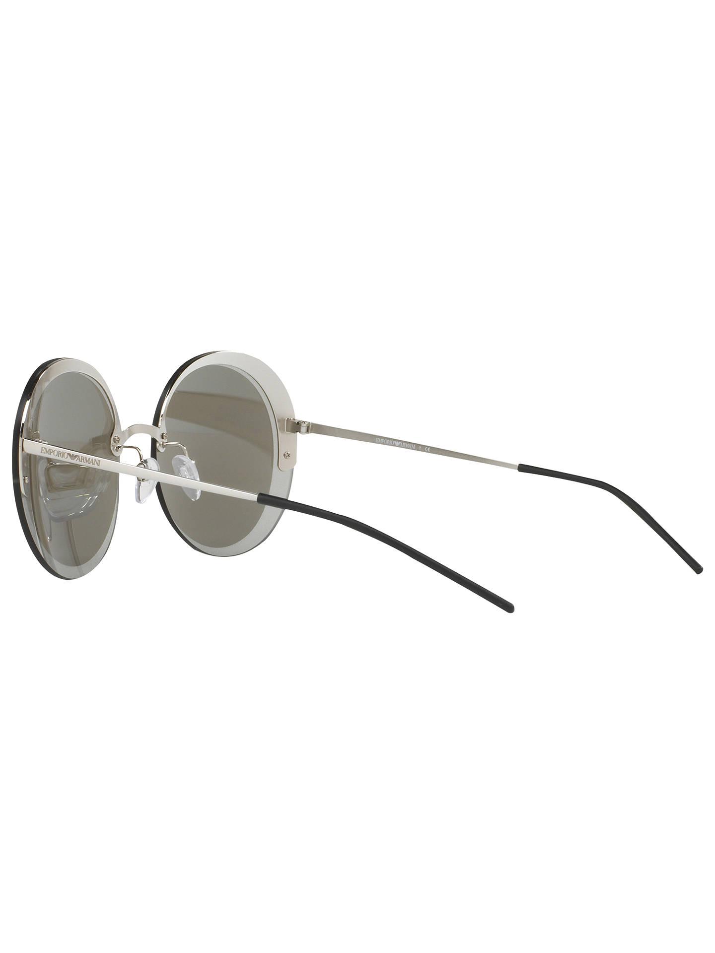 799e3fed864 Emporio Armani EA2044 Round Sunglasses at John Lewis   Partners
