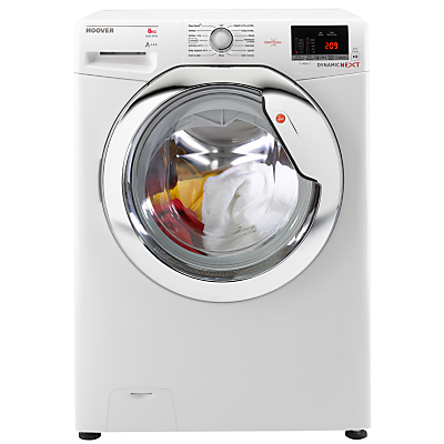Image of Hoover Dynamic Next with One Touch DXO C68C3 Freestanding Washing Machine, 8kg Load, A+++ Energy Rating, 1600rpm Spin