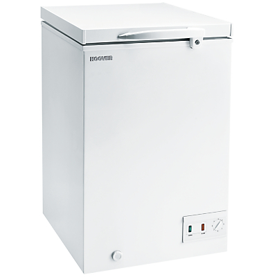 Hoover CFH106AWK Freestanding Chest Freezer, A+ Energy Rating 57cm Wide, White