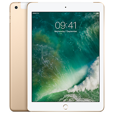 Image of Apple iPad 9.7, A9, iOS 10, WiFi & Cellular, 32GB