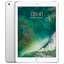"Buy Apple iPad 9.7"", A9, iOS 10, WiFi & Cellular, 128GB Online at johnlewis.com"