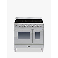 Buy ILVE PDWI90E3 Roma Induction Freestanding Range Cooker Online at johnlewis.com