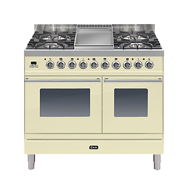 Image of ILVE PDW100FE3 Roma Dual Fuel Freestanding Range Cooker