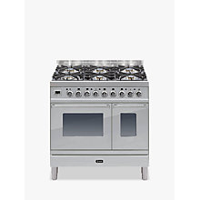 Buy ILVE PDW906E3 Roma Freestanding Dual Fuel Range Cooker Online at johnlewis.com