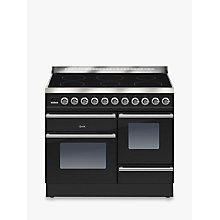 Buy ILVE PTWI100E3 Roma Induction Freestanding Range Cooker Online at johnlewis.com