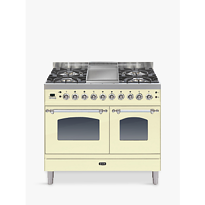 ILVE PDN100FE3 Milano Freestanding Dual Fuel Range Cooker