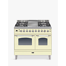 Buy ILVE PDN100FE3 Milano Freestanding Dual Fuel Range Cooker Online at johnlewis.com