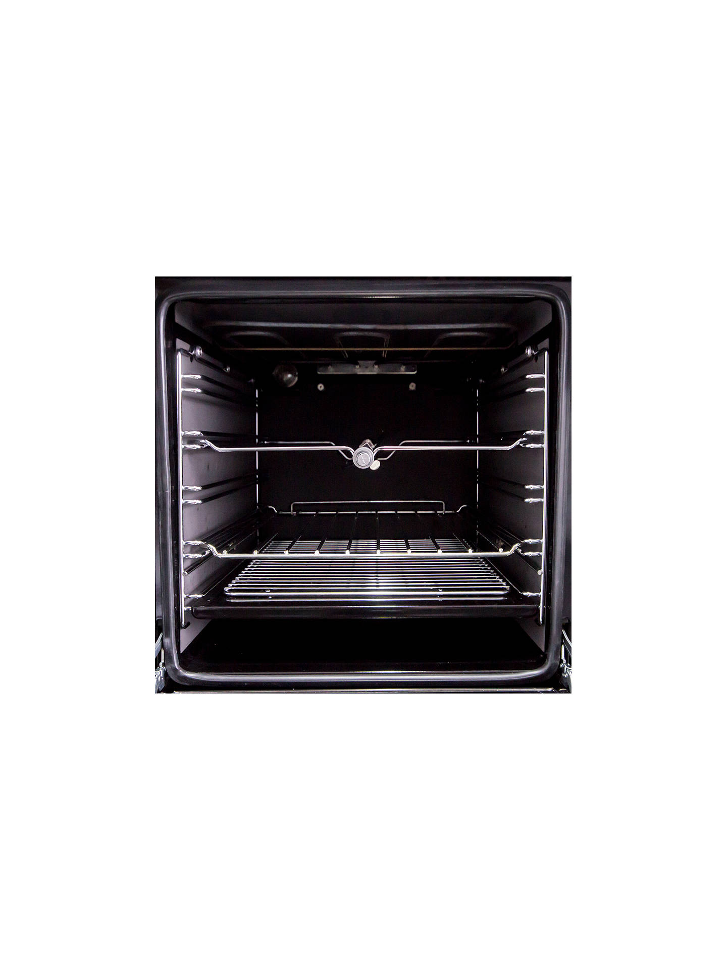 Buy ILVE Roma PTW1006E3/N Dual Fuel Freestanding Range Cooker, Black Online at johnlewis.com