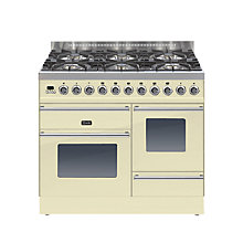 Buy ILVE Roma PTW1006E3 Dual Fuel Freestanding Range Cooker Online at johnlewis.com