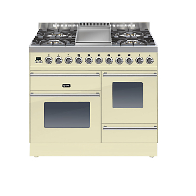 Image of ILVE PTW100FE3 Roma Dual Fuel Freestanding Range Cooker