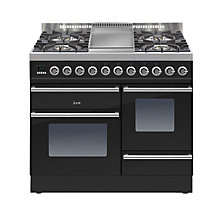 Buy ILVE PTW100FE3 Roma Dual Fuel Freestanding Range Cooker Online at johnlewis.com