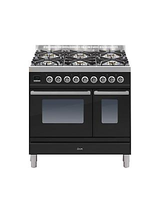 ILVE PDW906E3 Roma Freestanding Dual Fuel Range Cooker