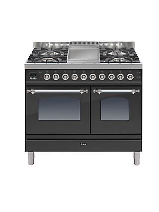ILVE PDN100FE3 Milano Freestanding Dual Fuel Range Cooker
