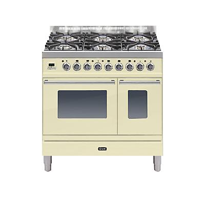 ILVE PDW906E3 Roma Freestanding Dual Fuel Range Cooker