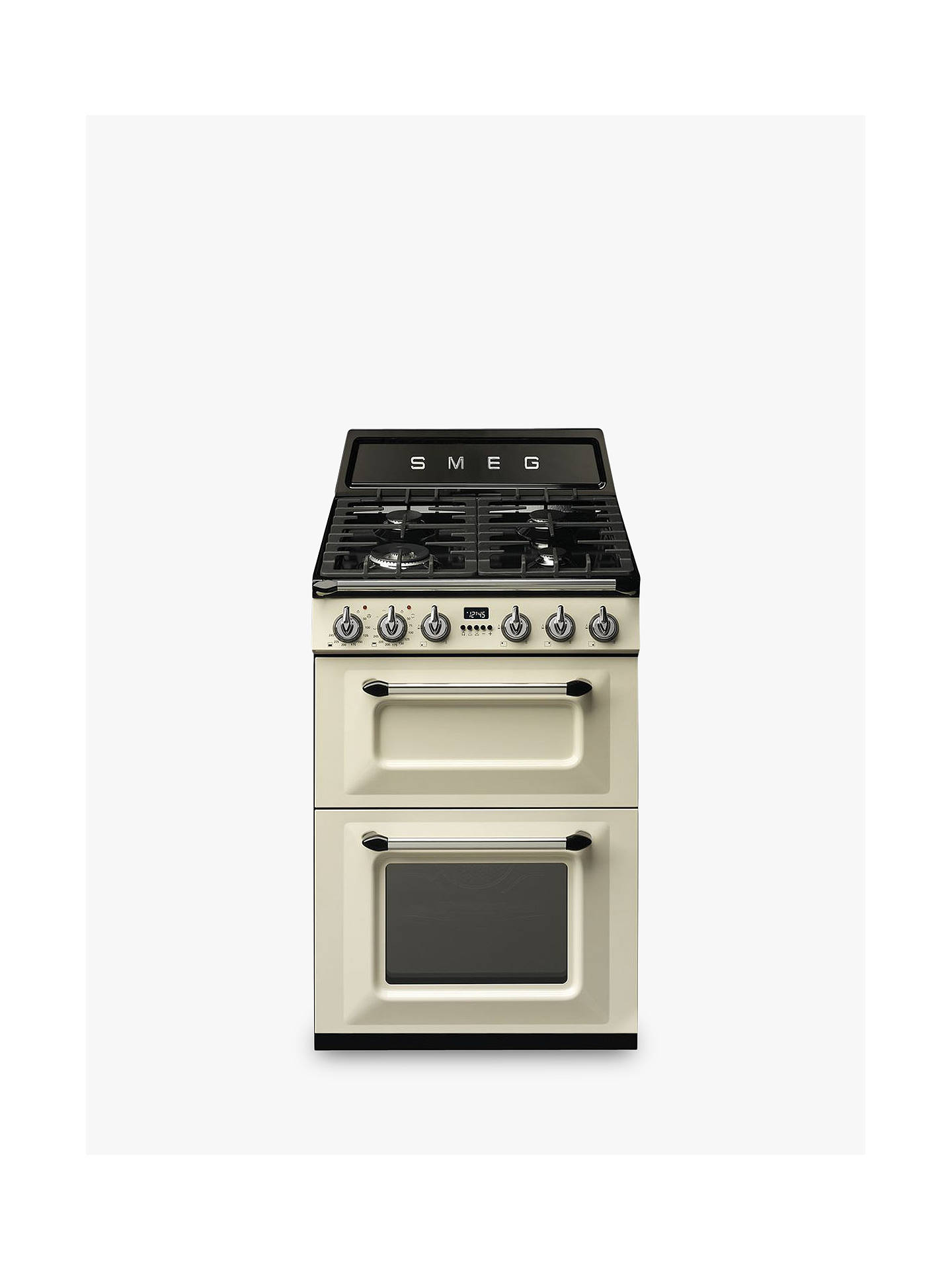 Buy Smeg TR62P Double Dual Fuel Cooker, A Energy Rating, Cream Online at johnlewis.com
